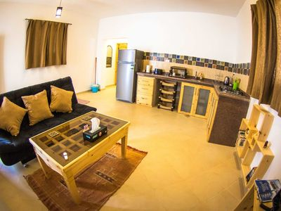 Photo for Bedu Apartment, Lighthouse Dahab - Sleeps 2