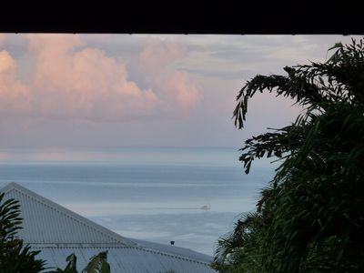 Photo for Creole villa sea view pool the rose carbet