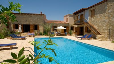Photo for Beautiful Country House Apartment with A/C, WiFi & Pool in the Historical Village of Choirokoitia