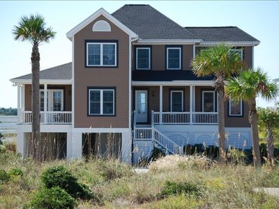 Photo for Ocean&Marsh Views! 5BR/5BA, Golf Cart,Wi-Fi! Read Our Reviews!