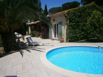 Photo for Villa with swimming pool in 600m quiet Beaches, shops on foot!
