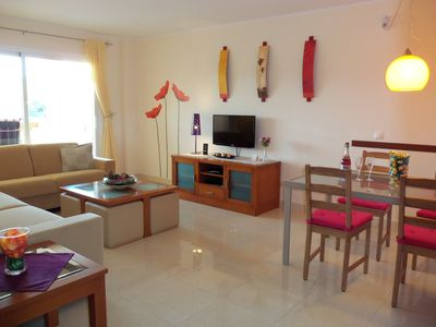 Photo for 100m to the sea, pool, 2 bedrooms, 2 bathrooms, great views, 19sqm terrace, air conditioning