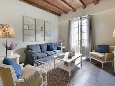 Photo for Miro 32 apartment in Eixample Dreta with WiFi, air conditioning, balcony & lift.