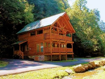 Photo for NEW LISTING!  Creekside, Great for Families & Pets, Hot Tub, Super Location!