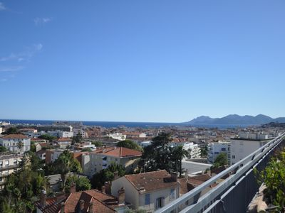 Photo for Luxurious apartment on the 8th and last floor in Cannes