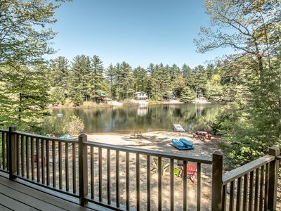 Photo for **CHARMING FAMILY WATERFRONT COTTAGE**