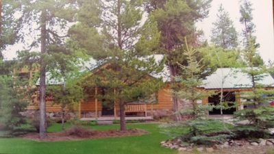 Photo for Gorgeous 3 Bedroom Home just outside of West Yellowstone