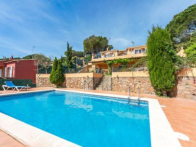 Photo for Vacation home La Chumbera in Begur - 8 persons, 4 bedrooms