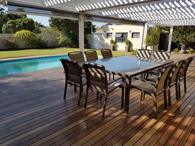 Photo for Large Space, Relaxing Atmosphere With Amazing Deck And Pool, 1km From The Beach.
