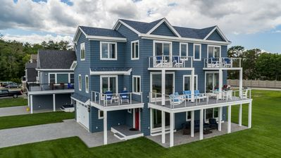 Photo for Oceanfront Beach House on Ferry Beach, Spectacular Panoramic Views
