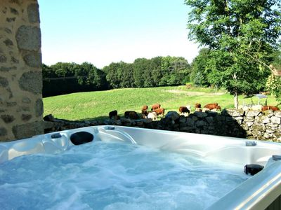 Photo for Gite Auvergne in the middle of nature in calm - JACUZZI PRIVE