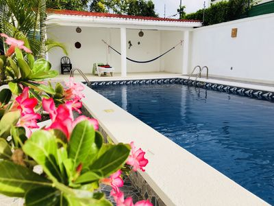 Photo for Casa Campestre ,  playa del Carmen,México with private pool