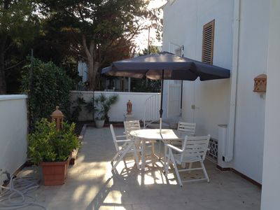 Photo for Villa San Michele: villa 50 meters from the sea, garden, 8 beds, 3 bathrooms