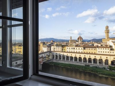 """Photo for Ponte Vecchio Luxury â™"""" stunning view over Florence"""