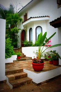 Front entrance of Casa Mis Amores.