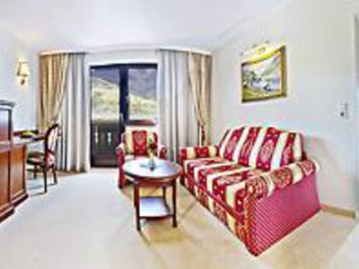 Photo for Suite with balcony to the town and lake - Hotel Berner