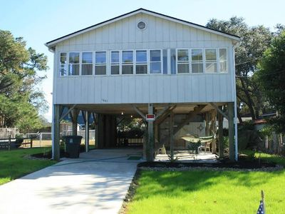 Photo for 3brm 2 Bath ~Pet Friendly~ Close to beach, shopping, attractions. Large fenced in yard.