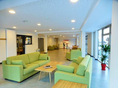 Photo for Wifi, 250m from ski lifts, 1st floor, balcony, parking, tv, 19m², Brides Les Bains