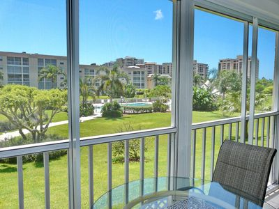 Photo for Relaxing condo w/ heated pool, hot tub, & a short walk to the beach