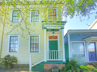 Photo for Stay with Lucky Savannah: Feel at home in this stately 2 bedroom row house