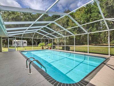 Photo for 'Pointe of View' Dunnellon House w/ Private Pool!