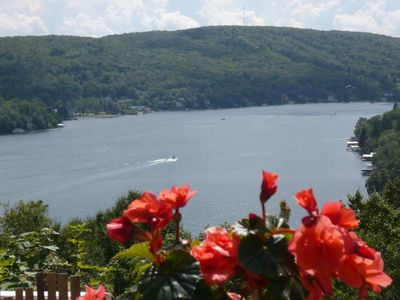 Photo for Amazing view and access to Lac Beauport, Quebec