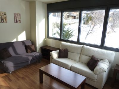 Photo for Apt, 1 bedroom up to 4 people 750m from the slopes of El Tarter Grandvalira