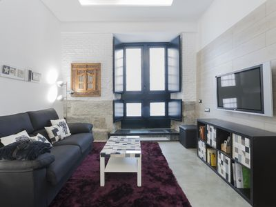 Photo for Madrid Malasaña Fun Experience - 2 rooms + patio