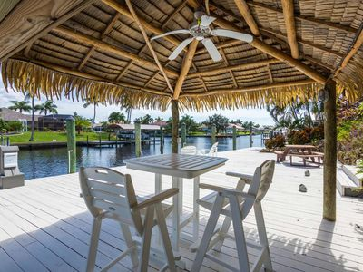 Photo for Blue Pearl - Boaters Mansion -2017 NEW ref. House, huge Outdoor Area with Tiki