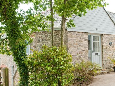Photo for ORCHARD BARN, pet friendly, with open fire in Salcombe, Ref 995684