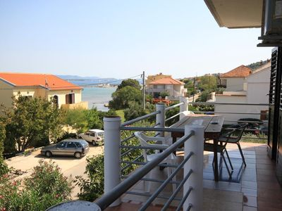 Photo for Two bedroom apartment near beach Tkon (Pašman)
