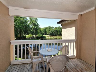 Photo for 2 Bedroom/ 2 bath 2nd floor Villa located in the Colonnade Complex of Shipyard Plantation!