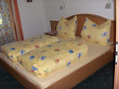 Photo for High mouth / 2 bedrooms / shower, WC - Haus Bergsonne