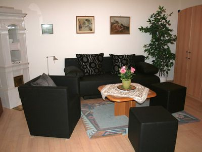 Photo for 70m² apartment with direct access to the garden