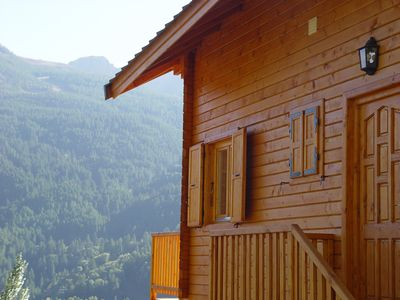 Photo for Spacious chalet 4 - luxurious features - splendid view - unforgeable holidays