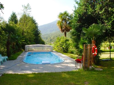 Photo for Lovely apartment for 4 guests with WIFI, pool, TV, balcony, pets allowed and parking