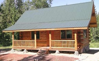 Payne Creek Cabin - well constructed by Amish craftsmen at Meadowlark Log Homes