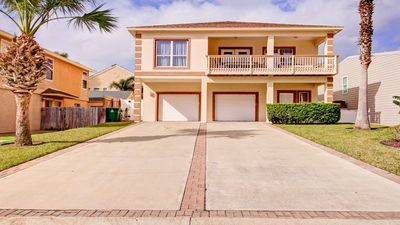 Photo for GORGEOUS 4BD/3BA,BILLIARD TABLE,HOT TUB/HEATED SWIM. POOL, 5 HOUSES TO THE BEACH