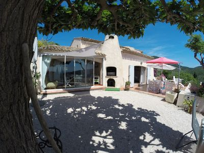 Photo for BIG VILLA Standing, quiet, panoramic countryside sea near beaches
