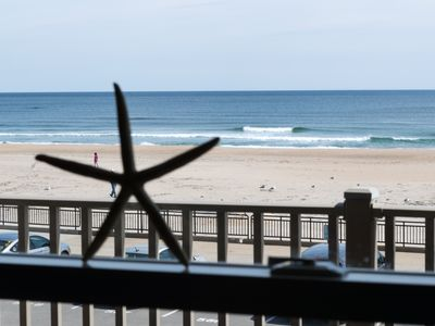 Photo for Upscale Oceanfront Condo Steps From The Seashell Stage