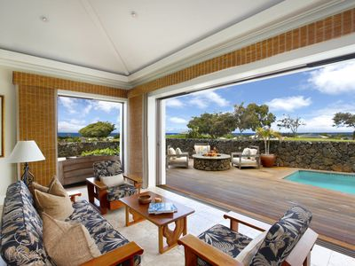 Photo for Ocean view, Private home, Pool, Elegant luxury, Privacy, Mana Alana at Poipu