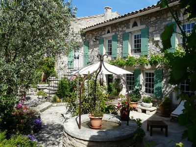 Photo for PROVENCAL ESTATE  WITH SWIMMING POOL - EYGALIERES