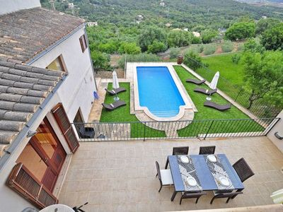 Photo for Buger Villa, Sleeps 12 with Pool, Air Con and WiFi