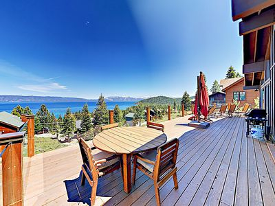 Photo for Dazzling Lake Views! Pool Table, Deck, Private Beach & Pier – Newly Remodeled