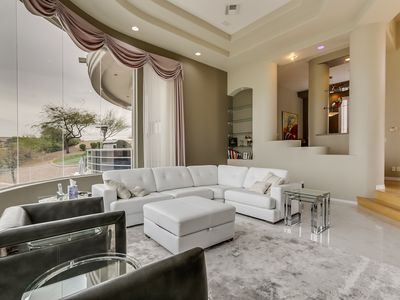 Photo for Breathtaking fully furnished rental Contemporary elegance this unique home.