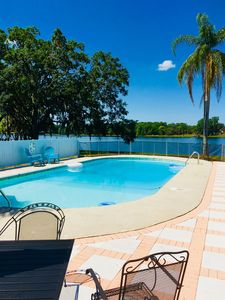 Photo for Beautiful lakefront property with private pool in Valrico
