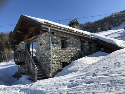 Photo for RARE! CHARMING CHALET ON THE TRACKS AND 100 M FROM THE VILLAGE