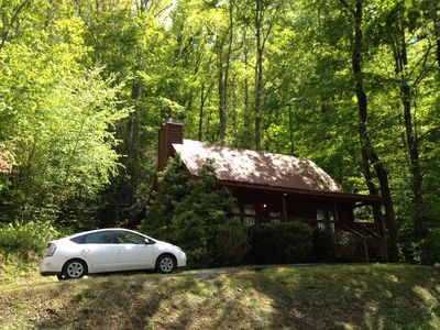 Photo for Bear Forest! Perfect Getaway! Great Location, 2bd/2ba cabin!