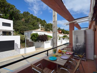Photo for Apartment completely renovated, located just 600 meters from the beach of Sa Riera. Very p