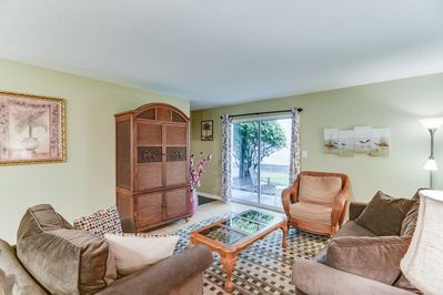 Comfortable Spacious Living Room with easy access to Ground Floor Patio